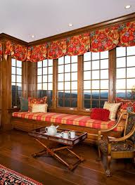 Solid Color Area Rug Bay Window Valance Living Room Contemporary With Treatments Solid