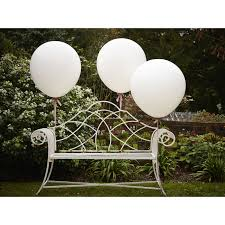 large white balloons large white feature balloons 3 pack hobbycraft