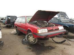 1992 subaru loyale sedan junkyard find denver style so many old subarus the truth