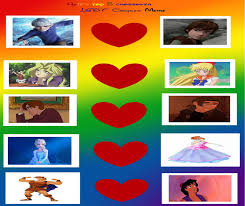 Lgbt Meme - my top 5 crossover lgbt couples meme by gxfan537 on deviantart