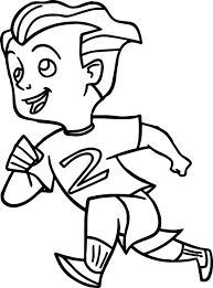 image printable coloring pages coloring boy running