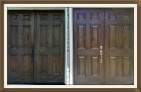 Refinish Exterior Door Front Door Restoration And Refinishing Door Renew Wood Door