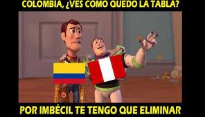 Colombia Meme - perú vs colombia estos son los memes del determinante duelo por la