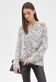 forever 21 fuzzy marled knit sweater where to buy how to wear