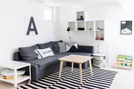house tour a scandinavian inspired family room happy grey lucky
