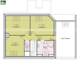 plan maison 4 chambres gratuit plan maison à étage 4 chambres avie home