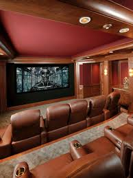 Custom Home Theater Seating 13 High End Home Theater Designs Hgtv