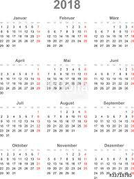Kalendar 2018 Nederland Kalender 2018 Stock Image And Royalty Free Vector Files On