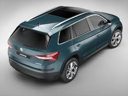 skoda kodiaq interior skoda kodiaq 2017 3d model cgtrader