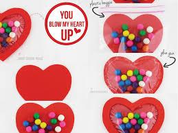 blow my heart up bubble gum valentine craft ideas