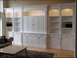 Media Room Built In Cabinets - wall units marvellous white built in cabinets white built in