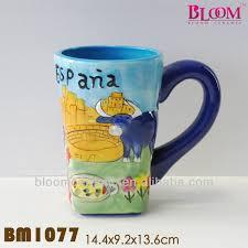 espana souvenir ceramic blue animal mug buy animal mug blue