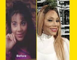 tamar braxton nose job before after tamar braxton before and after plastic surgery mto news