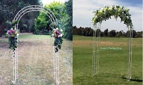wedding arches to hire wedding ceremony hire products