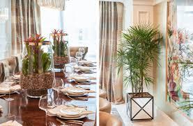vibrant art deco dining room tara dudley interiors las vegas
