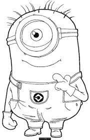 despicable me coloring pages learn language me