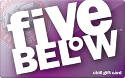 5 gift cards buy five below gift cards raise