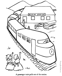 train coloring pages train pictures color coloring pages
