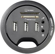 passe fils bureau xystec prise de bureau multifonction 60 mm amazon fr high tech