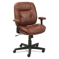 Leather Desk Chair by Swivel Tilt Leather Task Chair By Oif Oifst4859 Ontimesupplies Com