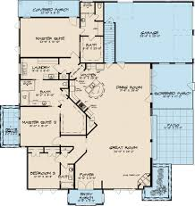 southern style house plan 3 beds 3 00 baths 2995 sq ft plan 17 2593
