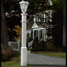 Home Depot Outdoor Post Lighting by 6 Inch W X 6 Inch D X 72 Inch H Sturbridge Light Post Lamp Not