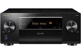 pioneer amplifier home theater pioneer black 7 2 channel network av receiver sc lx501