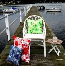 Sq 51 by Vintage Mu U0027umu U0027u Cushions In Tropical Green Print Who U0027d Have Thought