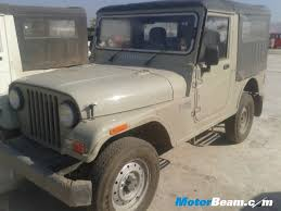 2014 mahindra thar gets a new slatey colour