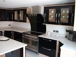 Light Colored Kitchen Cabinets Backsplash For Dark Cabinets And Dark Countertops Light Brown