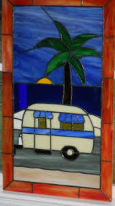 rv door glass your choice from 18 stained glass windows for rv 5th wheel