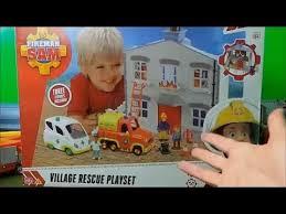 fireman sam simba 3 pack opening village rescue playset