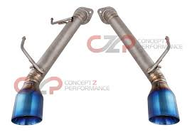 nissan 370z exhaust sound top speed pro 1 axle back exhaust system full titanium w burnt