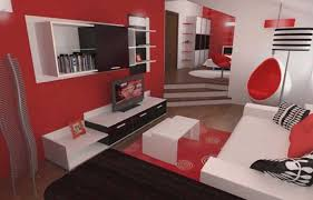 Black And White And Red Bedroom Impressive 70 Black And White Living Room Photos Decorating