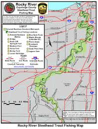 milan ohio map rocky river ohio steelhead fishing map and guide diy fly fishing