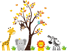 wall decal reusable wall decals thousands pictures of wall wall decal reusable wall decals safari animals nature removable reusable wall decals kids clipart