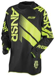 black motocross gear answer elite jersey revzilla