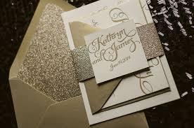wedding invitations glitter gold glitter wedding invitations wedding corners
