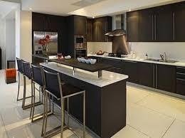 Kitchen Bar Design Black Small Kitchen With Bar Design Small Kitchen Design