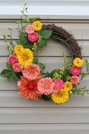 summer wreath wreath summer wreath floral wreath by jbakerdesign on etsy