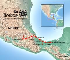 Cuernavaca Mexico Map by Mexico Tour In The Path Of The Olmecs Far Horizons