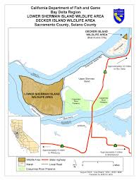 Solano County Map Lower Sherman Island Wildlife Area Legal Labrador