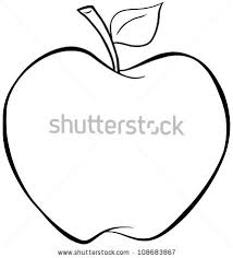 apple outline stock images royalty free images u0026 vectors