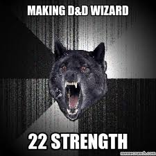 D And D Memes - wizard