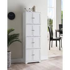 white storage cabinet for kitchen pilaster designs burnham 4 tier contemporary kitchen pantry