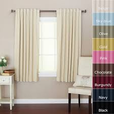 Small Window Curtains by Curtains Short Blackout Curtains White Blackout Curtains