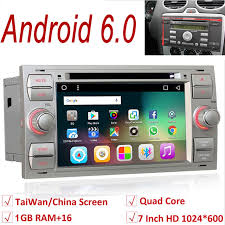 radio for ford focus aliexpress com buy 2 din android 6 0 car radio for ford focus 2