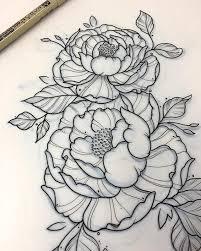 tattoo flower drawings flower tattoo drawing clipartxtras