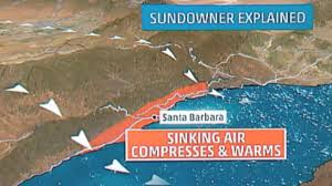 Santa Ana California Map What Are Sundowner And Santa Ana Winds The Weather Channel