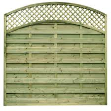 Arch Trellis Fence Panels Trellis Panels And Garden Fence Panels Torquay And Bodmin Timber
